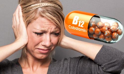 На дефицит витамина B12 укажет необычный симптом в ушах