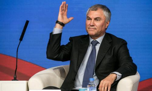 Володин предложил разделить регионы РФ на бедные и богатые